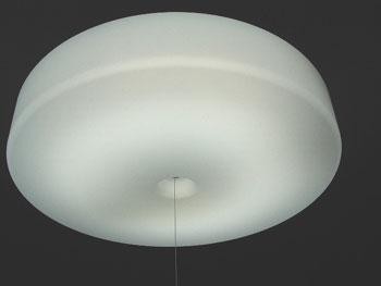 明かりの雰囲気は普通のシーリングライトと同じような感じの雰囲気です。音楽関係の機材を色々いじる部屋なので、白熱灯タイプではなく、蛍光灯タイプのライトを選択し  ...